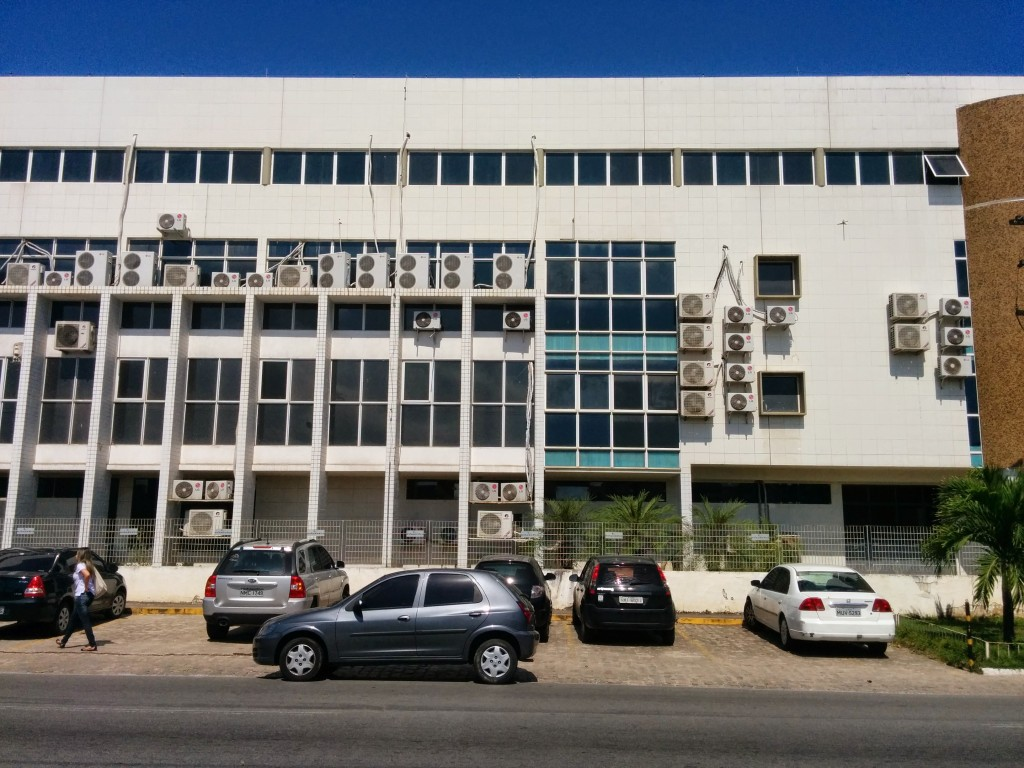 Fachada do Fórum de Alagoas