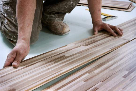 piso laminado instalação