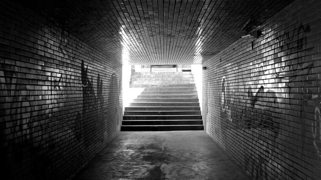 Passarela subterrânea